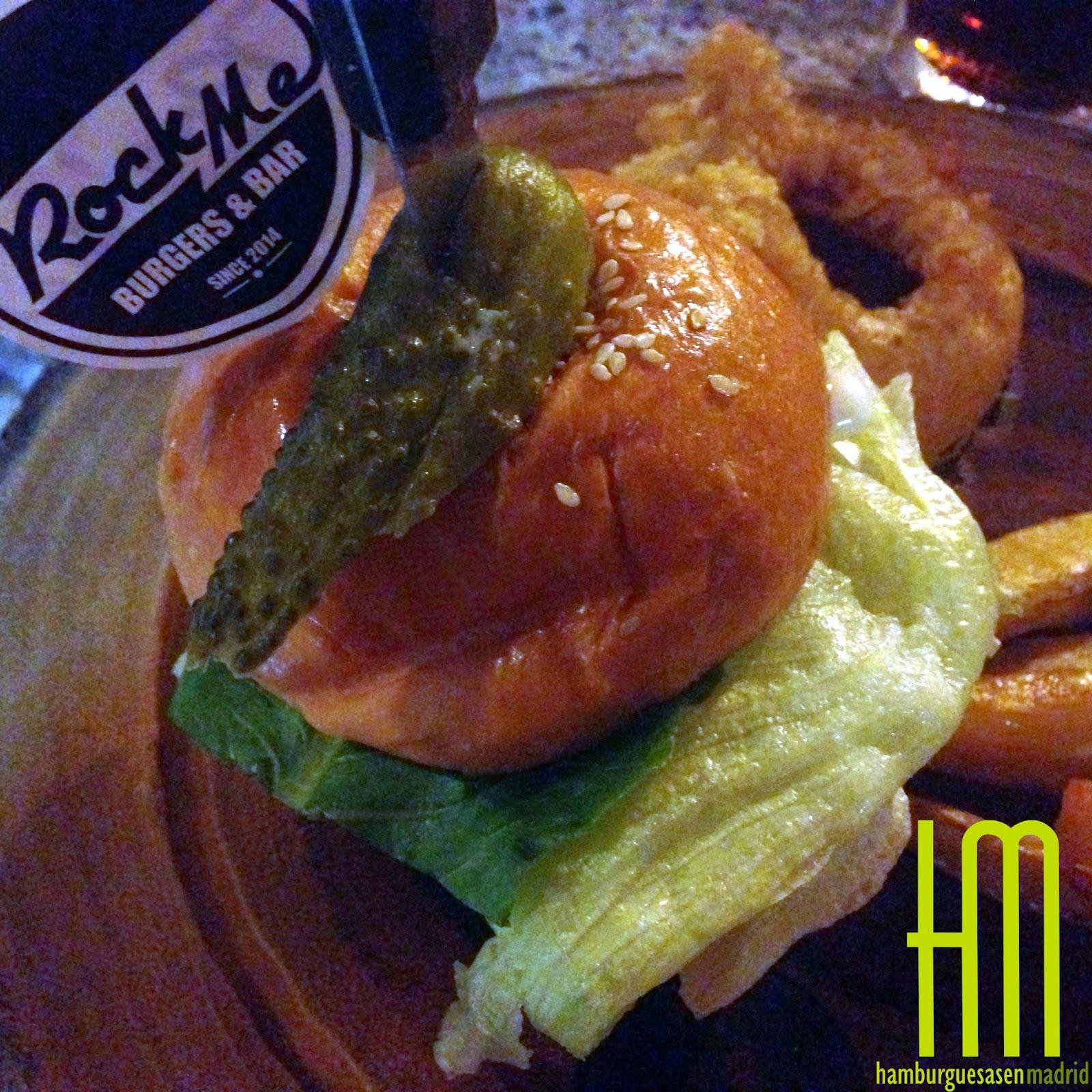 Burger completa Rock Me