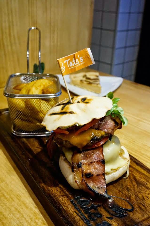 Tate's burger 400
