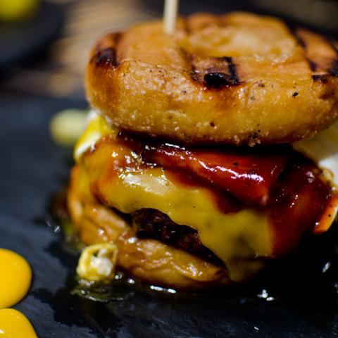 Donut Burger Sublime
