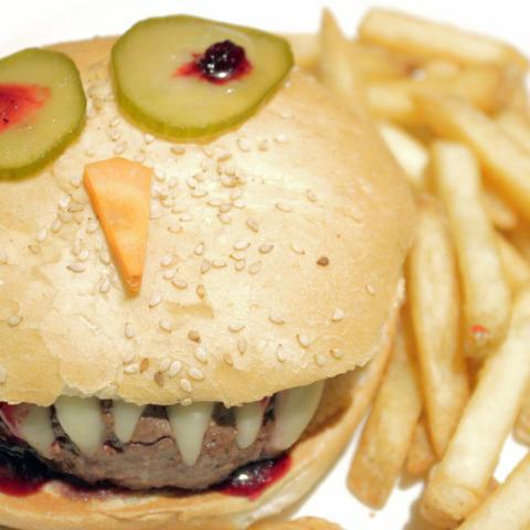 Halloween Burger NYB