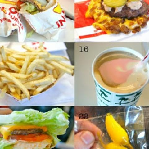 Collage hamburguesero