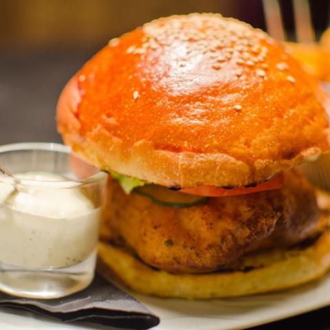 Fish & Chips Burger SOT