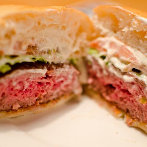 Detalle Corte Burger Buns