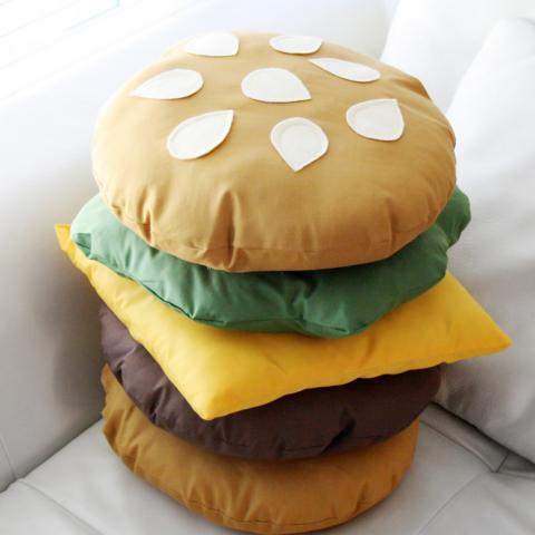 Burger Pillow
