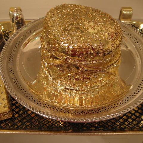 Hamburguesa de oro