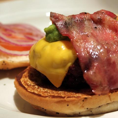 Bacon Burger New York Burger