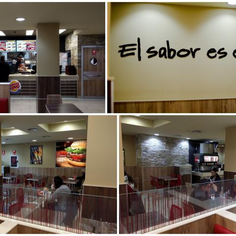 Collage Local Burger King