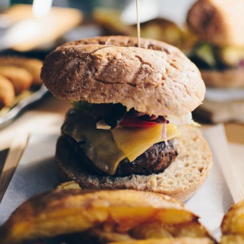 Burger Menta y Cilantro