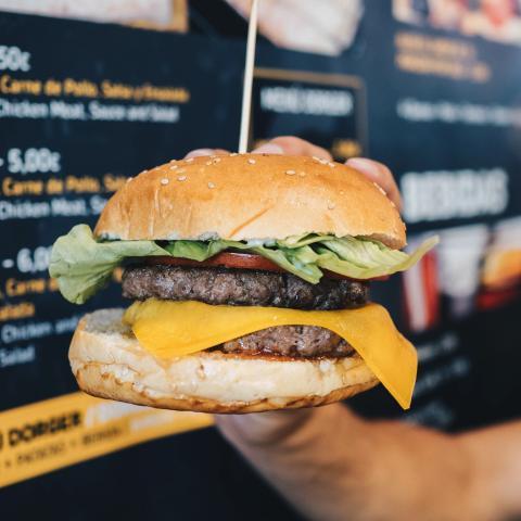 Portada Non Stop Burger
