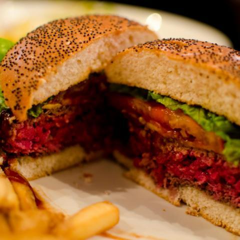 Detalle Corte Queens NY Burger