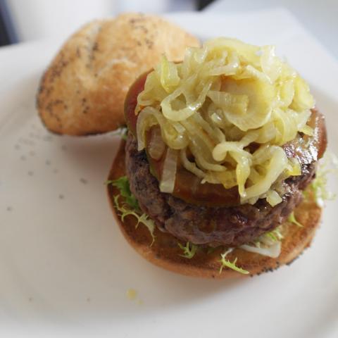 Burger Receta