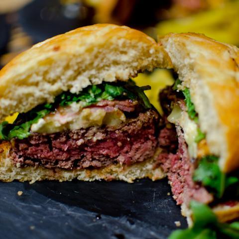 Detalle Corte Burger Sublime