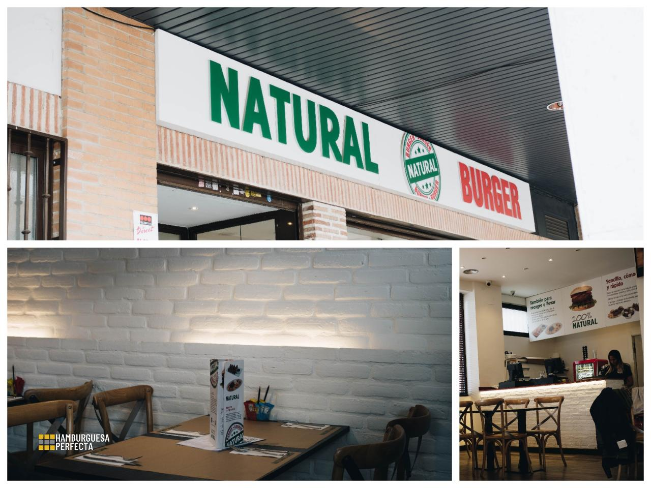 Collage Loca Natural Burger