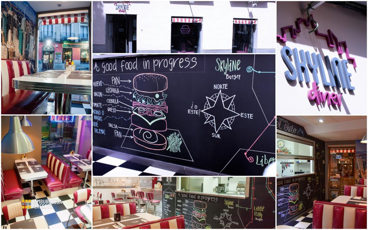 Collage Local Skyline